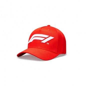 Formule 1 čepice baseballová kšiltovka logo red 2020