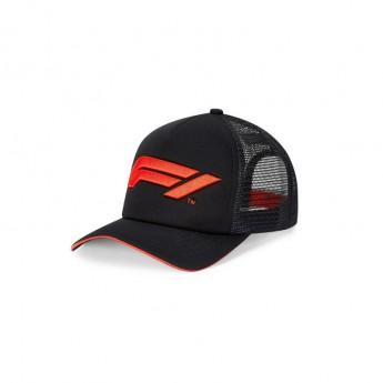 Formule 1 čepice baseballová kšiltovka Trucker black 2020