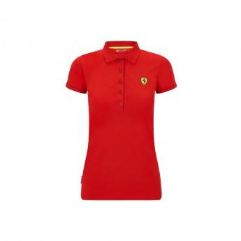 Ferrari dámské polo tričko Classic red F1 Team 2020