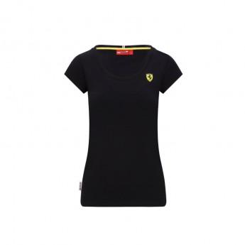 Ferrari dámské tričko Shield black F1 Team 2020