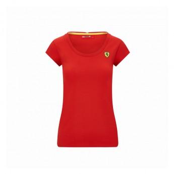 Ferrari dámské tričko Shield red F1 Team 2020