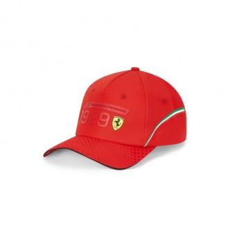 Ferrari čepice baseballová kšiltovka Detail red F1 Team 2020