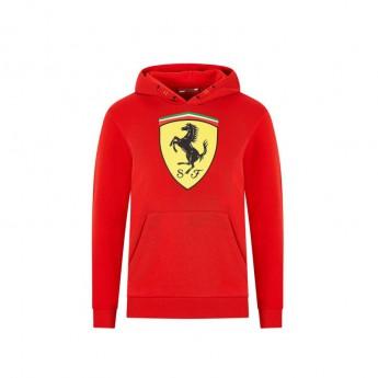 Ferrari dětská mikina s kapucí logo red F1 Team 2020
