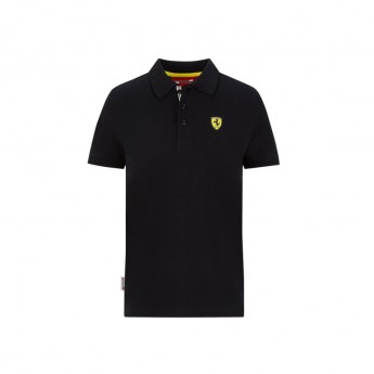 Ferrari dětské polo tričko Classic black F1 Team 2020