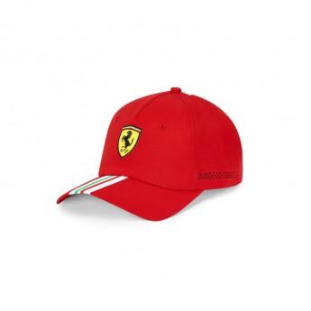 Ferrari čepice baseballová kšiltovka Italian Flag red F1 Team 2020