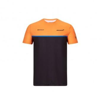 Mclaren Honda pánské tričko black F1 Team 2020