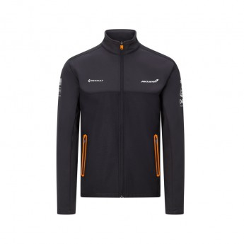 Mclaren Honda pánská bunda softshell black F1 Team 2020