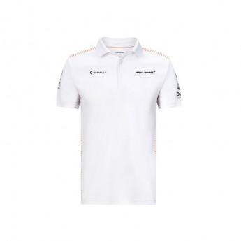 Mclaren Honda pánské polo tričko white F1 Team 2020