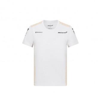 Mclaren Honda dětské tričko white F1 Team 2020