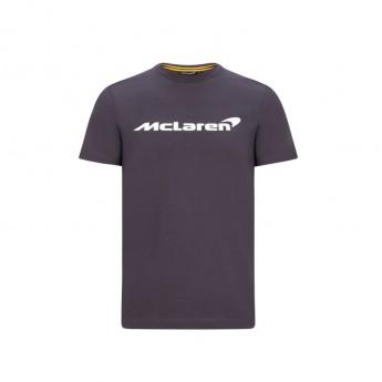 Mclaren Honda pánské tričko Essentials grey antracit F1 Team 2020