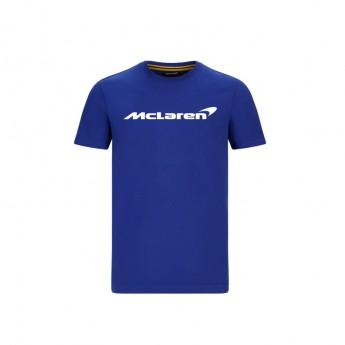 Mclaren Honda pánské tričko Essentials blue F1 Team 2020