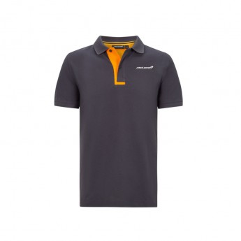 Mclaren Honda pánské polo tričko Essentials grey antracit F1 Team 2020