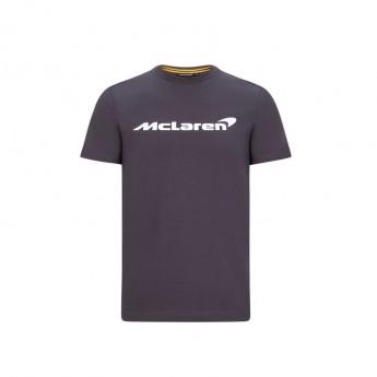 Mclaren Honda dětské tričko Essentials grey antracit F1 Team 2020