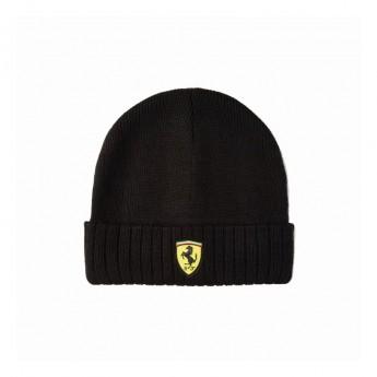 Ferrari zimní čepice logo beanie Black F1 Team 2020