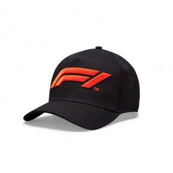 Formule 1 dětská čepice baseballová kšiltovka logo black 2020