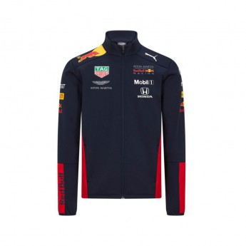 Red Bull Racing dětská bunda teamwear softshell navy F1 Team 2020