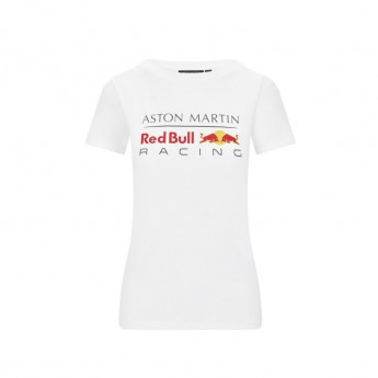 Red Bull Racing dámské tričko logo white F1 Team 2020