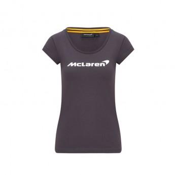 Mclaren Honda dámské tričko Essentials grey F1 Team 2020