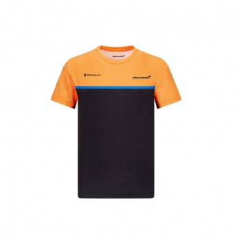 Mclaren Honda dětské tričko black F1 Team 20120