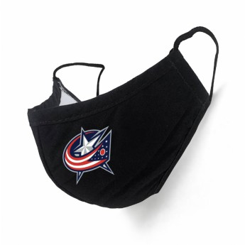 Columbus Blue Jackets rouška black