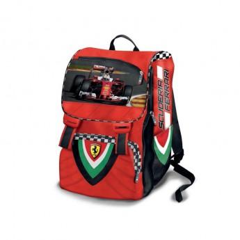 Ferrari školní batoh Extensible red F1 Team 2020