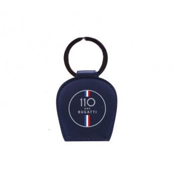 Bugatti přívěšek na klíče 110 Ans Leather Logo 2020