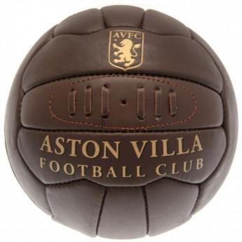 Aston Villa fotbalový míč Retro Heritage Football - size 5