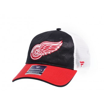 Detroit Red Wings čepice baseballová kšiltovka Iconic Trucker Shadow