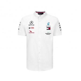 Mercedes AMG Petronas pánská košile white F1 Team 2020