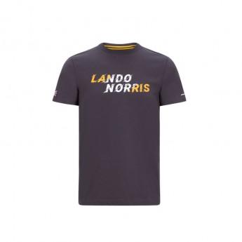 Mclaren Honda pánské tričko Lando Graphic Antracit F1 Team 2020