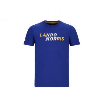 Mclaren Honda pánské tričko Lando Graphic Blue F1 Team 2020
