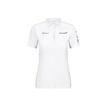 Mclaren Honda dámské polo tričko white F1 Team 2020