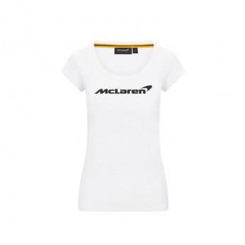Mclaren Honda dámské tričko Essentials white F1 Team 2020