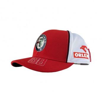 Alfa Romeo Racing čepice baseballová kšiltovka Orlen Robert Kubica red F1 Team 2020