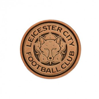 Leicester City odznak Antique Gold