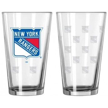 New York Rangers set skleniček Satin Pint Glass