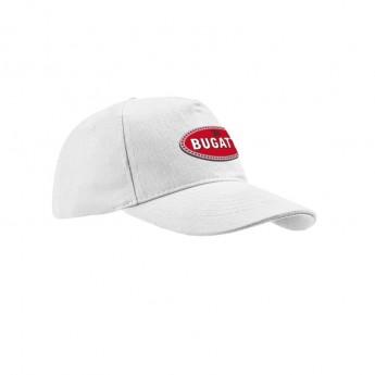 Bugatti čepice baseballová kšiltovka 110 Anniversary Collection white 2020