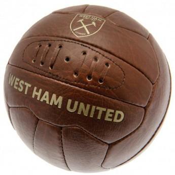West Ham United fotbalový míč Faux Leather - size 5
