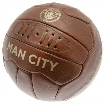 Manchester City fotbalový míč Faux Leather - size 5