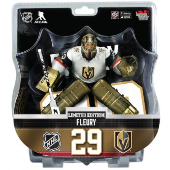 Vegas Golden Knights figurka Marc-Andre Fleury #29 Vegas Golden Knights Imports Dragon Gold Version