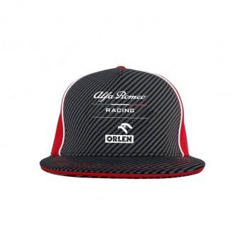 Alfa Romeo Racing čepice flat kšiltovka brim redblack F1 Team 2020