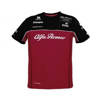Alfa Romeo Racing pánské tričko Red F1 Team 2020