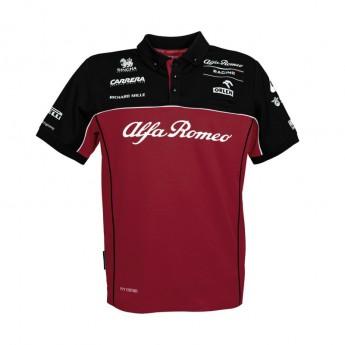 Alfa Romeo Racing pánské polo tričko Red F1 Team 2020