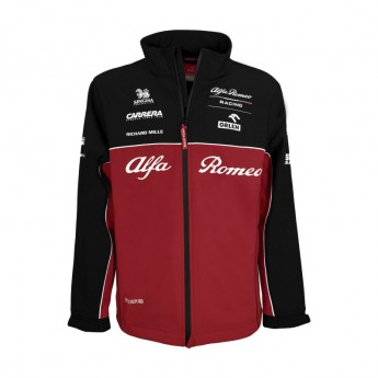 Alfa Romeo Racing pánská bunda Softshell Red F1 Team 2020