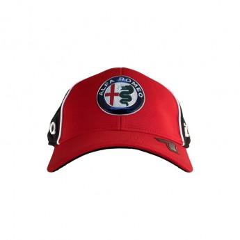 Alfa Romeo Racing čepice baseballová kšiltovka Kimi red F1 Team 2020