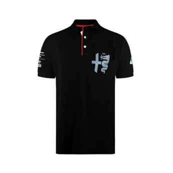 Alfa Romeo Racing pánské polo tričko Silver Tribute black F1 Team 2020