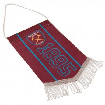 West Ham United vlaječka Mini Pennant SN