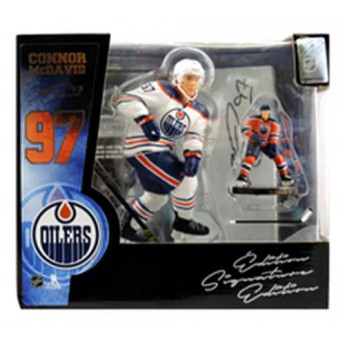 Edmonton Oilers figurka Connor McDavid #97 Set Box Exclusive