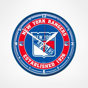 New York Rangers hodiny Circle Win Craft 2020