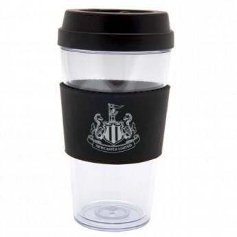 Newcastle United cestovní hrnek Clear Grip Travel Mug